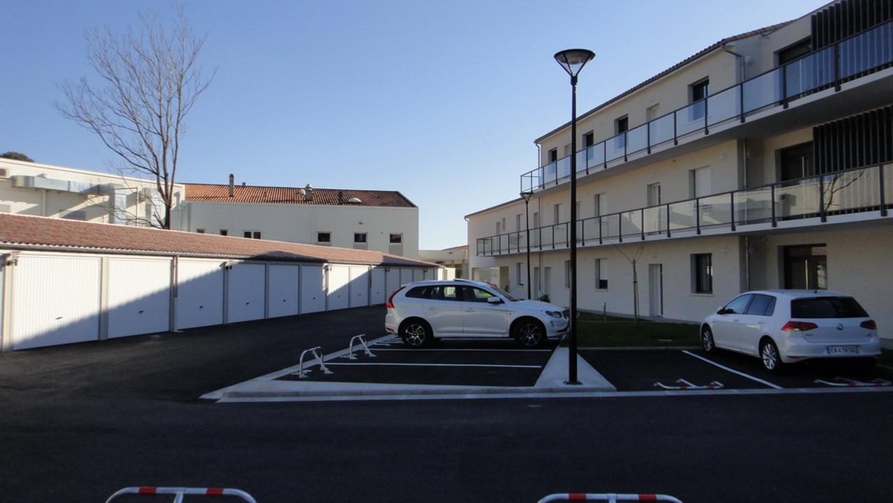 Parkings et garages de la résidence