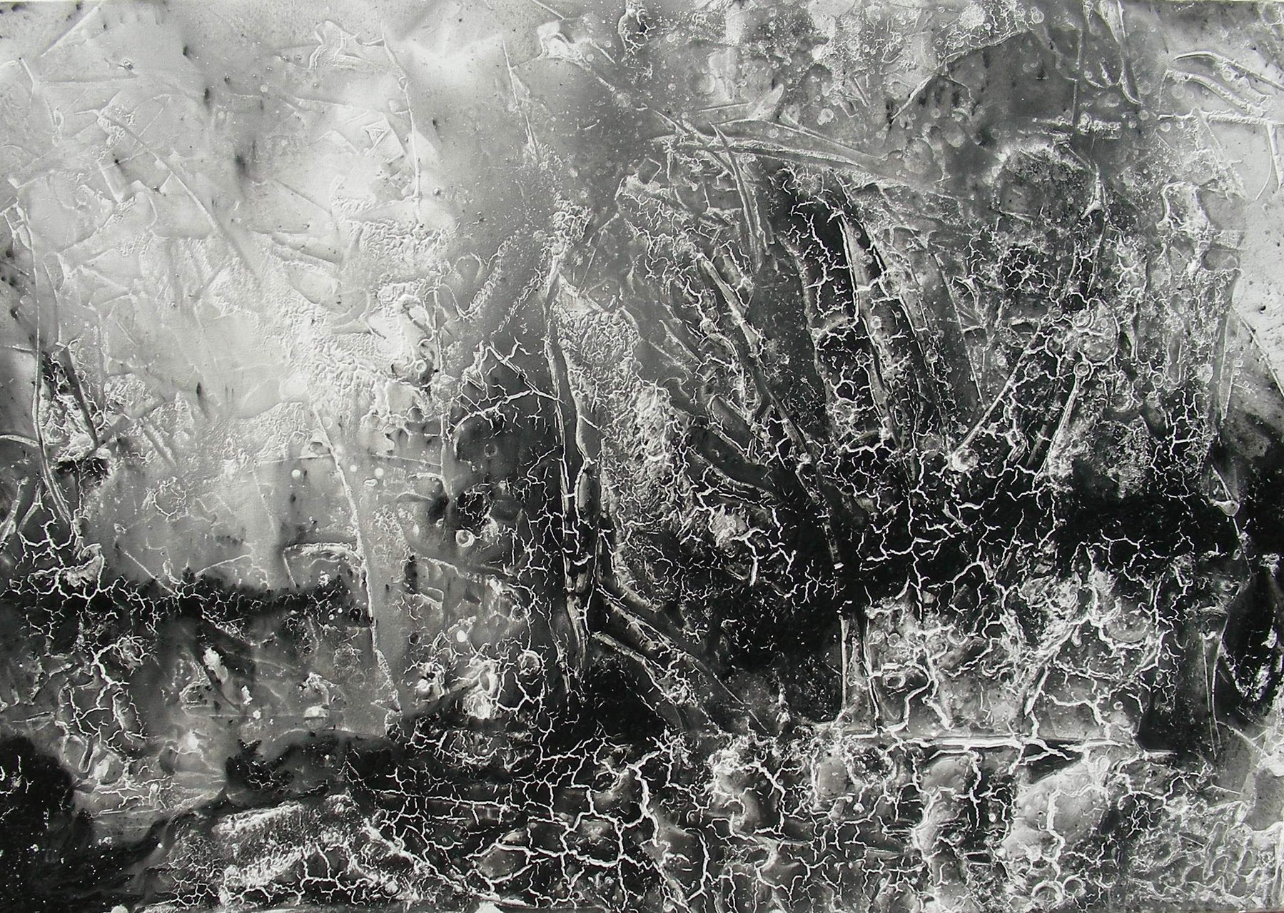 "Aubruch I"" Acryl  auf Leinwand 70x100x4cm"
