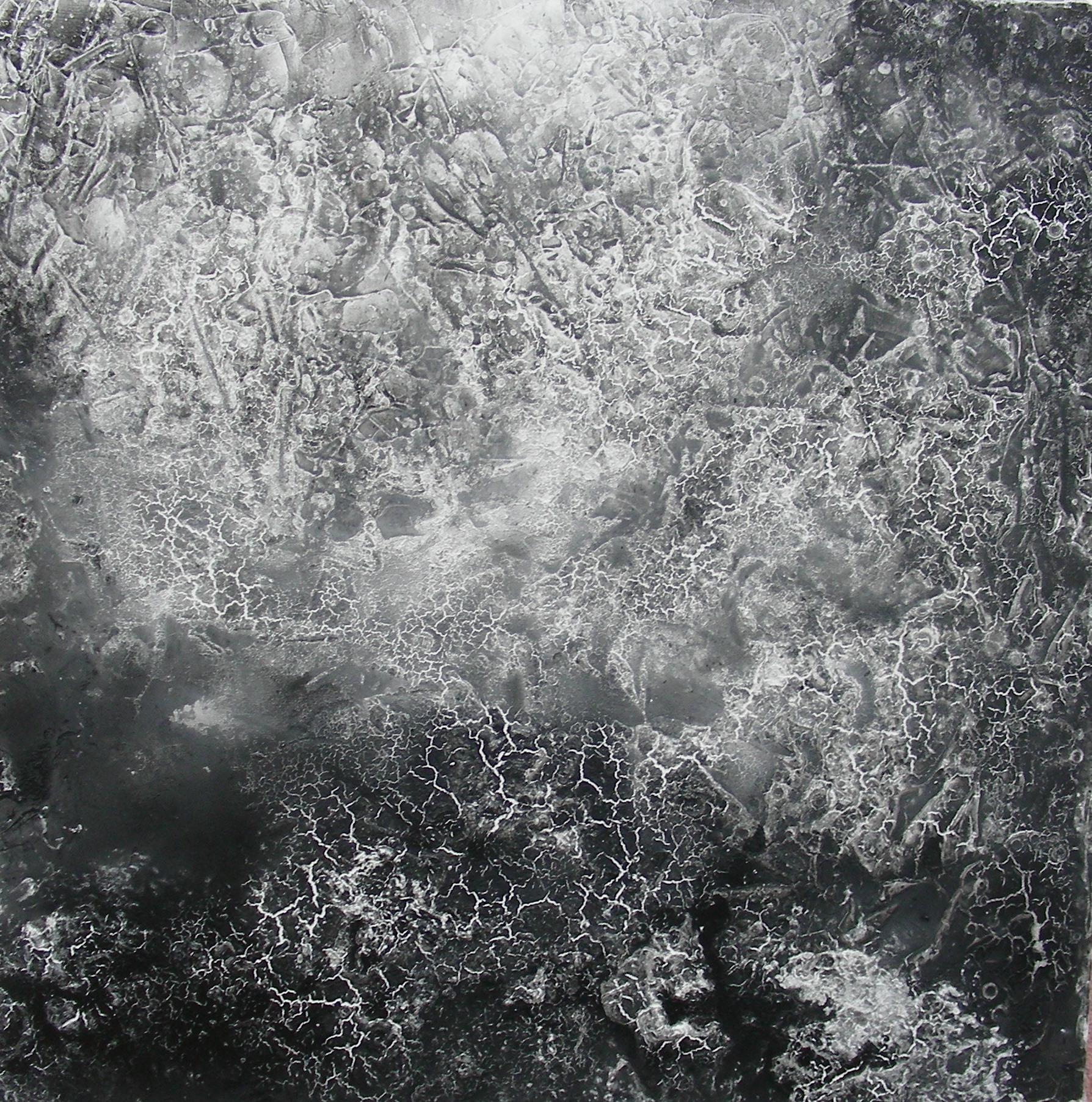 """""""Aufbruch IV"""" Acryl auf Leinwand 90x90x4cm"""