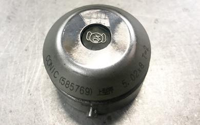 タレットパンチプレス機の ピチップ専用バイブスくん刻印金型