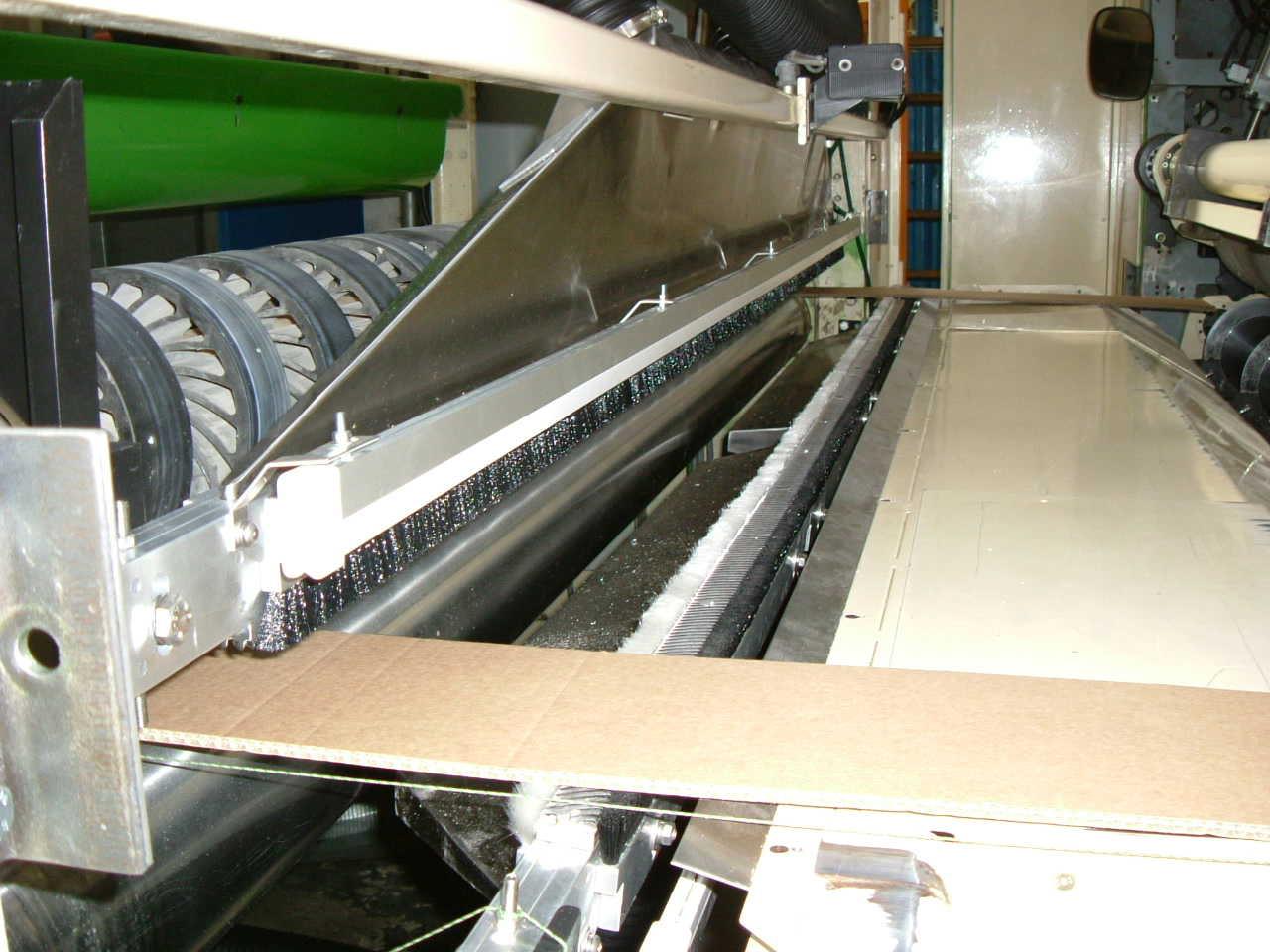 BHS 2500 mm Oberseite mit Kaliebereinstellung