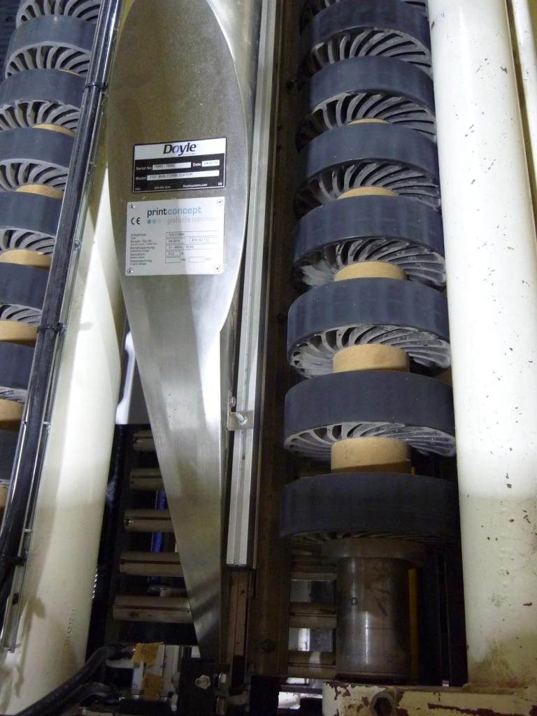 BHS 2800 mm nach QS - Oberseite mit Kalierbereinstellung