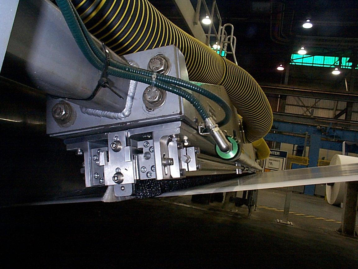 Papiermaschine Spezialabsaugkopf