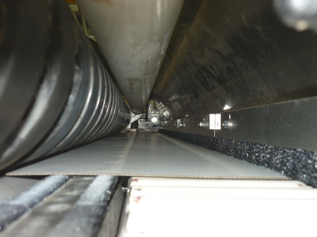 BHS 2800 mm after cross cut lower side