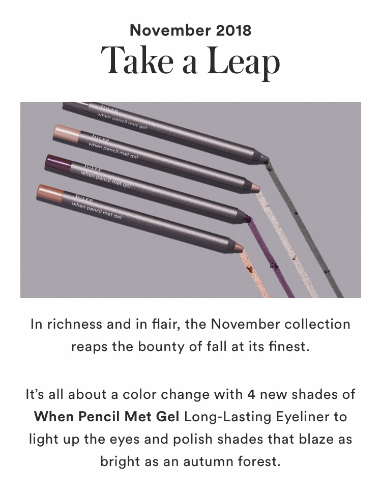 Julep November 2018 Collection Reveal