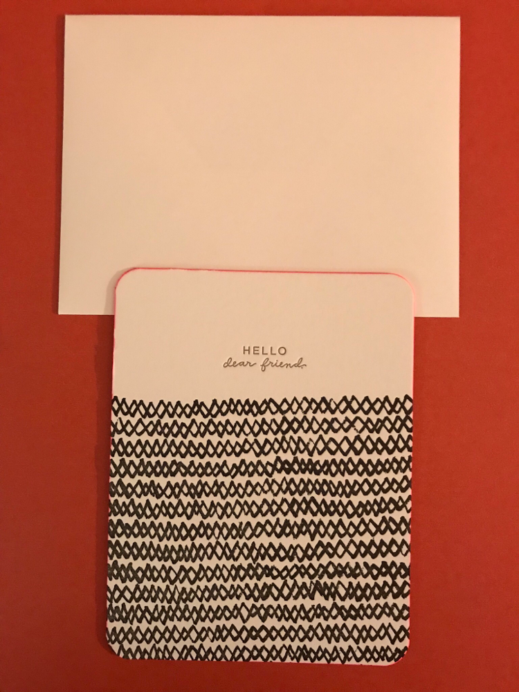 Hello Card By Ramona & Ruth