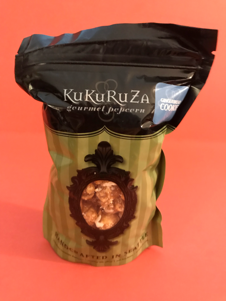 KuKuRuZa gingerbread cookie popcorn