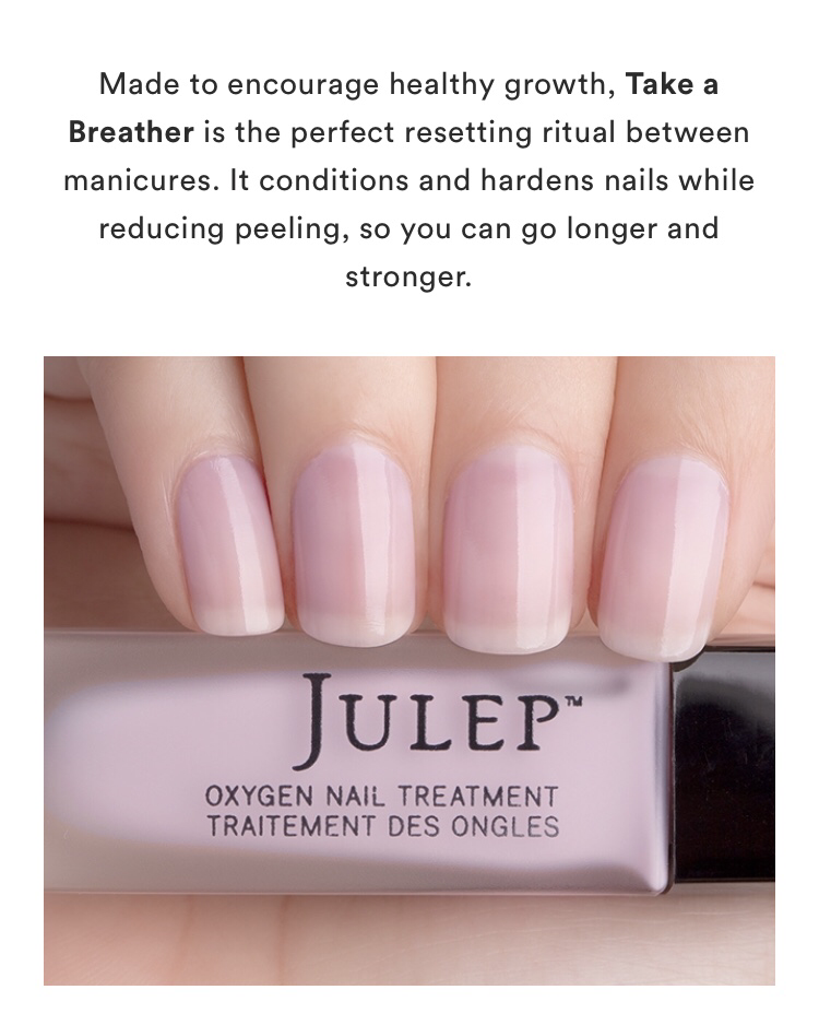 Julep Sheer Orchid Oxygen Nail Treatment