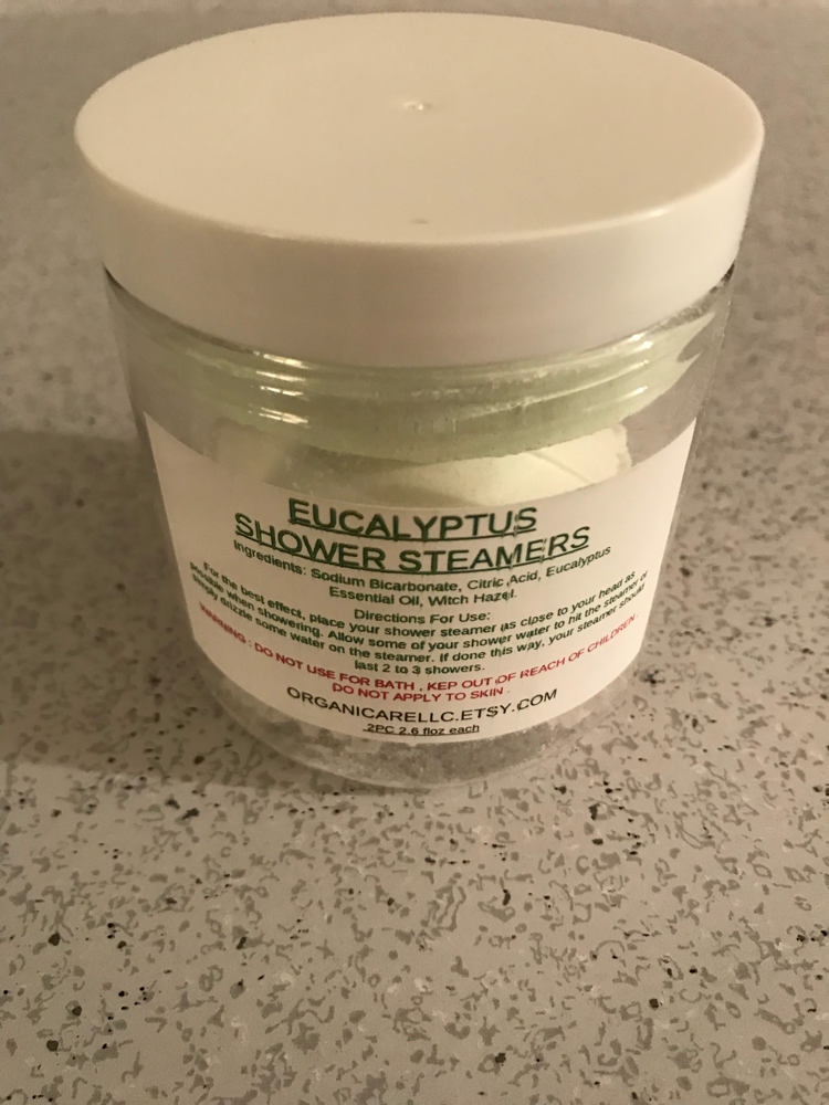 Organicare aromatherapy shower steamer