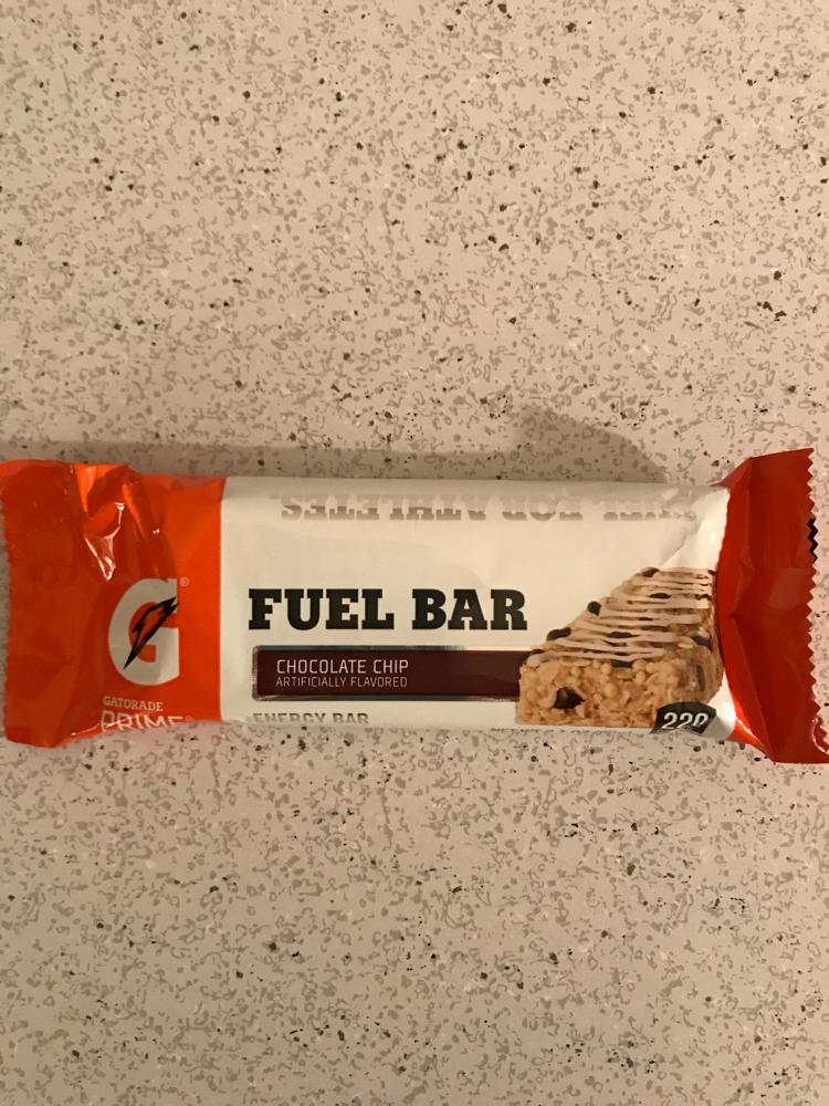 Gatorade Prime Chocolate Chip Fuel Bar