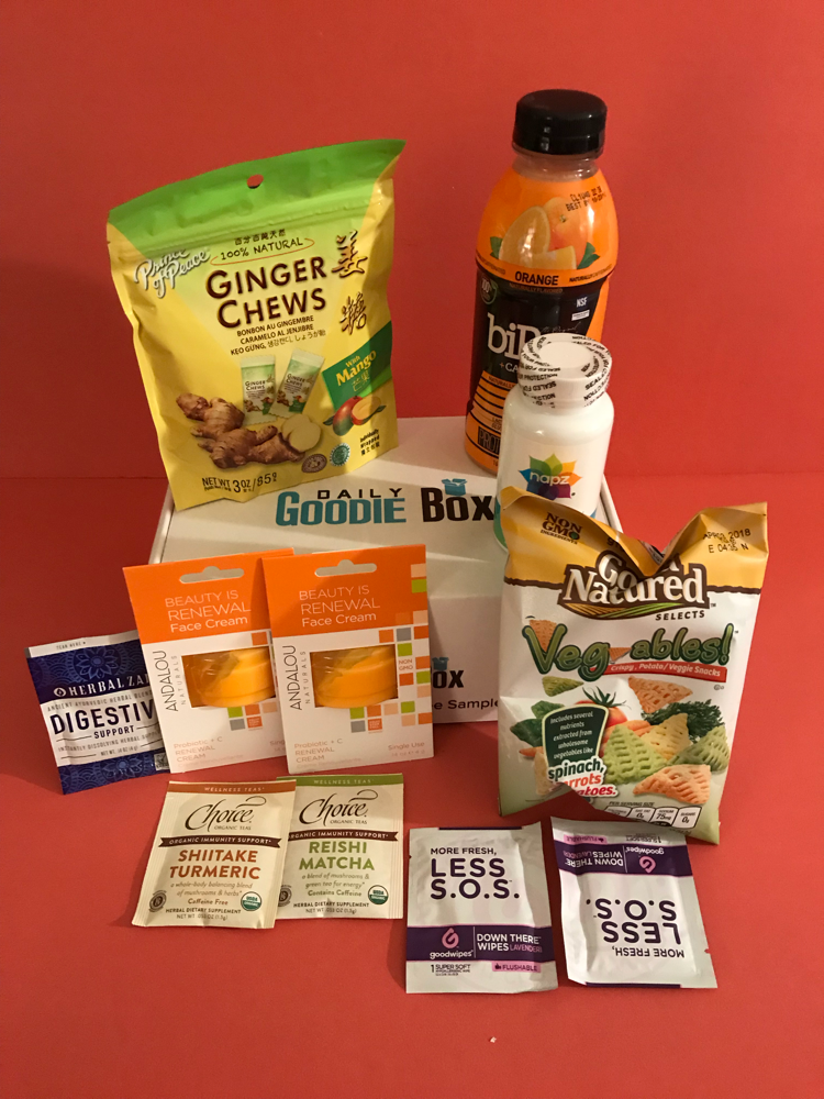 Daily Goodie Box February 2018 review