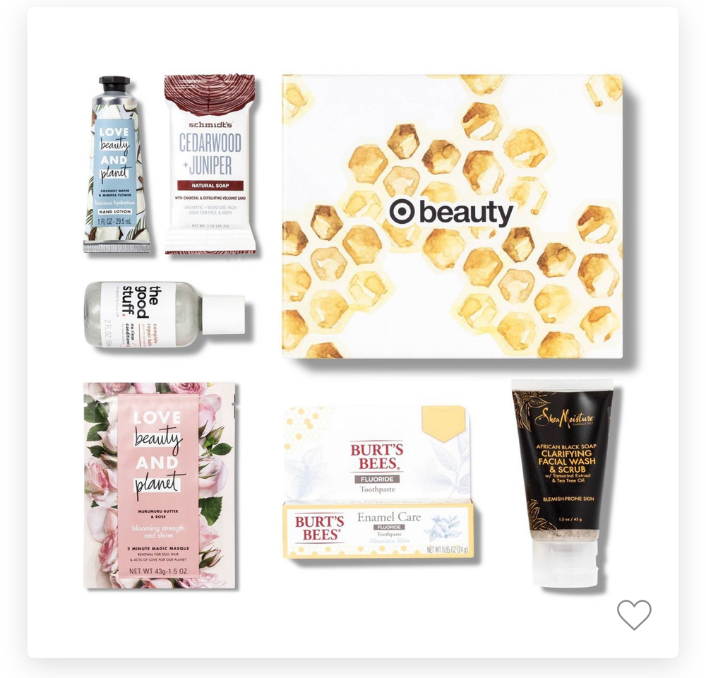 Target Beauty Box April 2019 Natutals