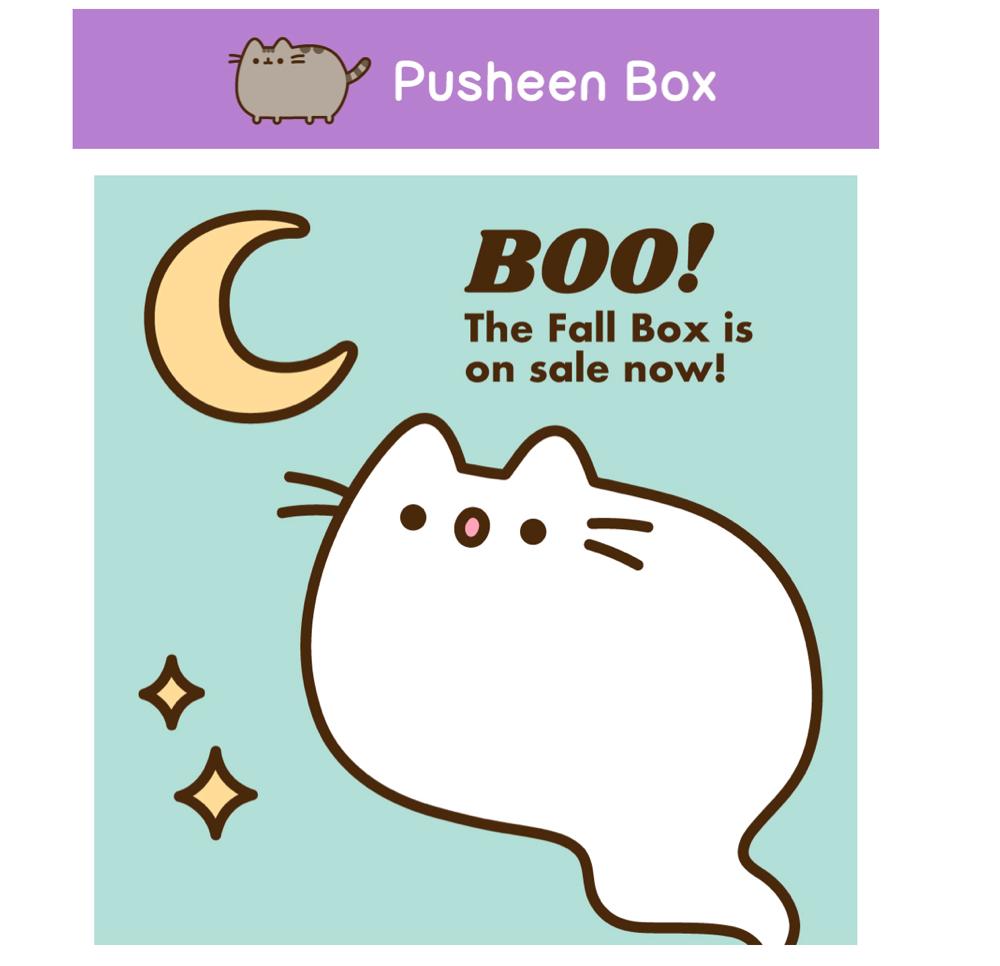 Fall 2019 Pusheen Box
