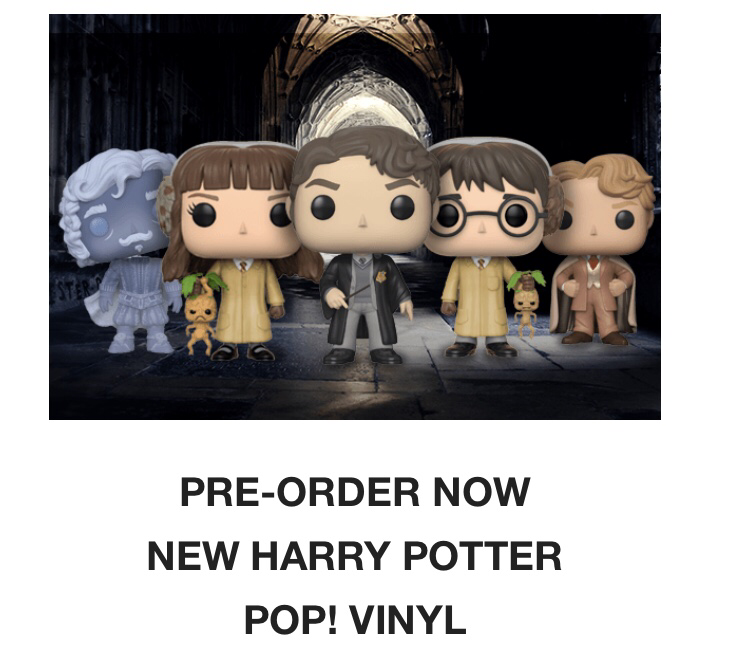 Pop In a box Pre-Order New Harry Potter Pop Vinyls