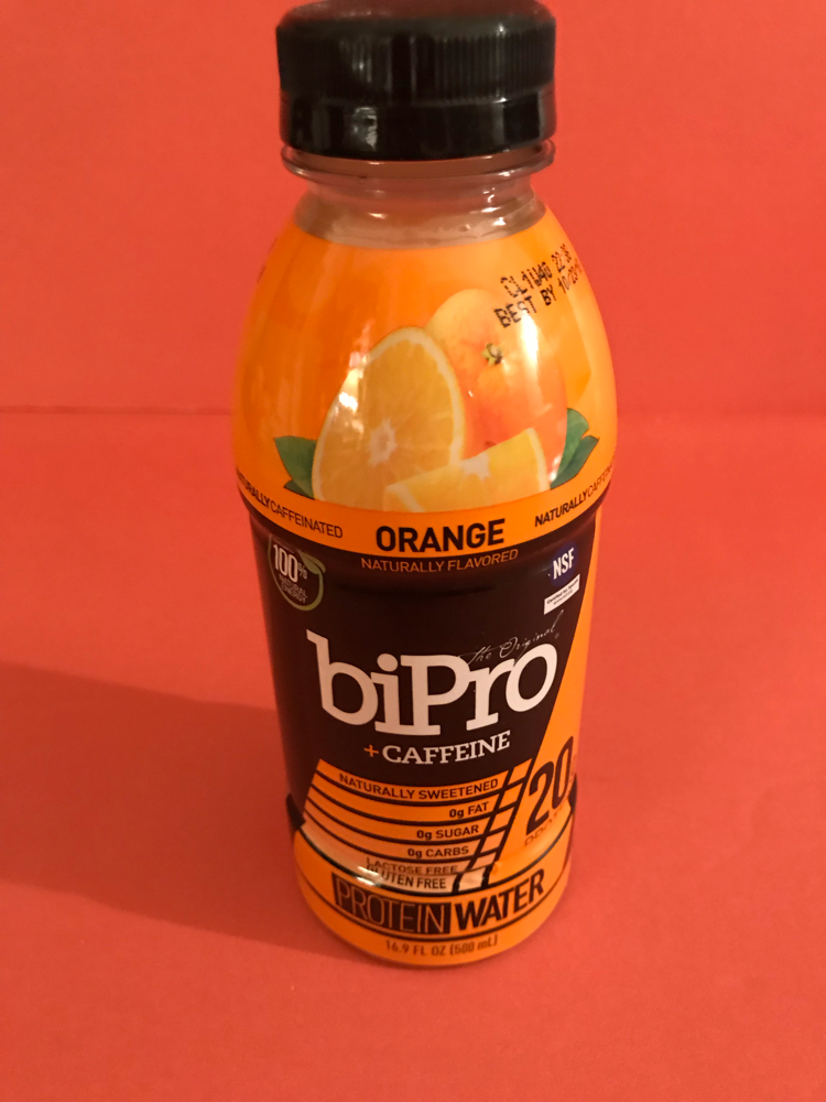BiPro Protein Water Orange + Caffeine