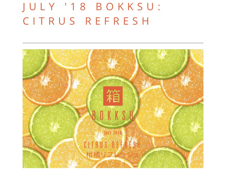 Bokksu July 2018 Theme Reveal + Spoilers + Save