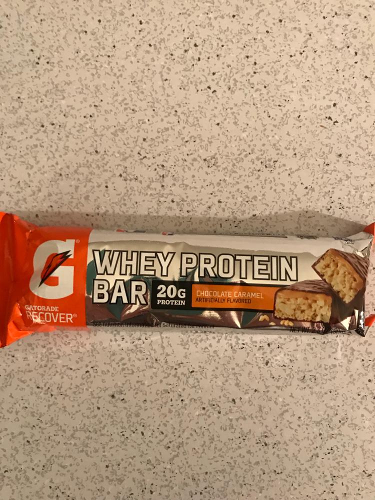 Gatorade Recover Whey Protein Bar Chocolate Bar