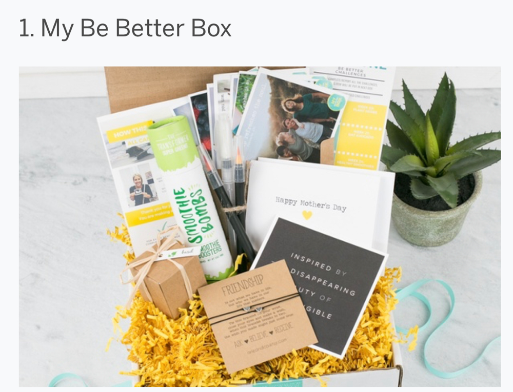 My be better box