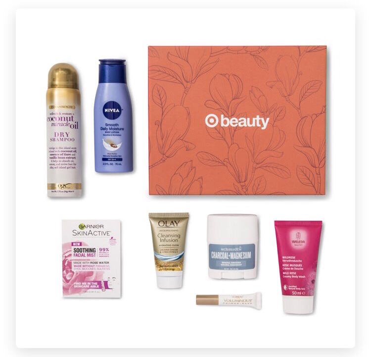 Target Fall Beauty Box September