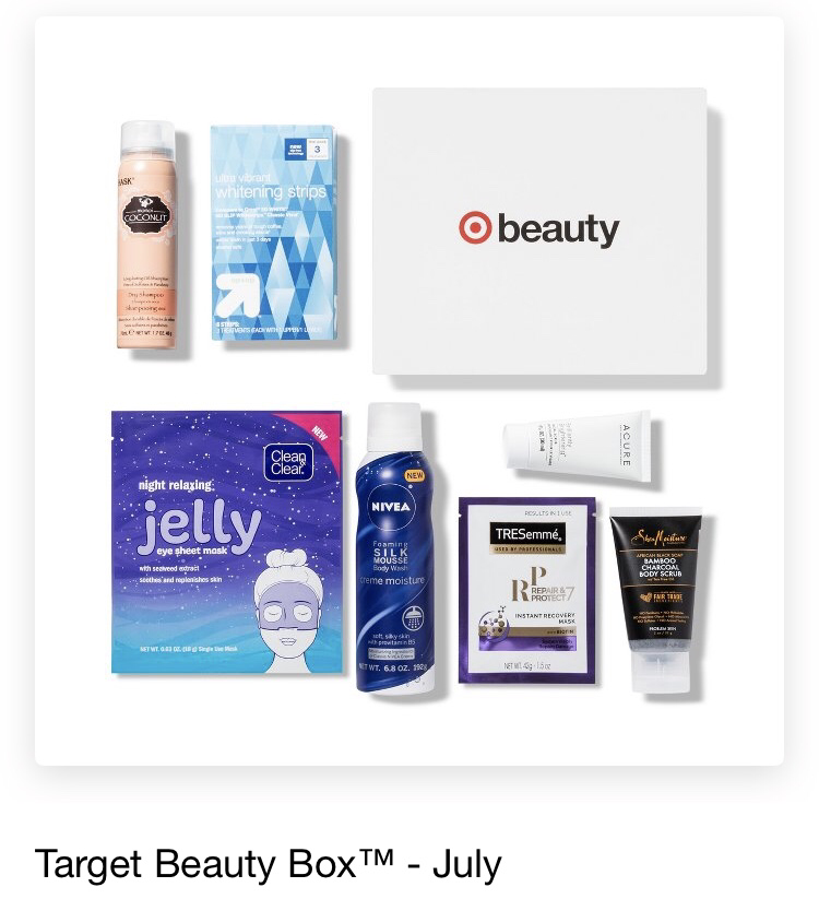 Target Beauty Box July 2018