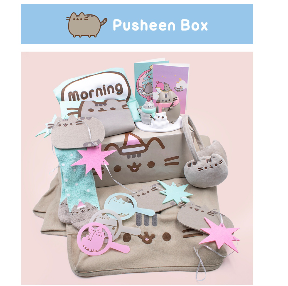 Pusheen winter 2018 box