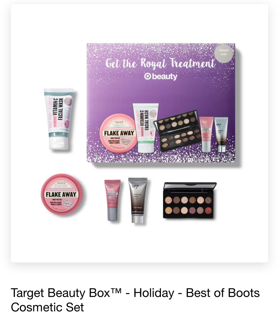 Target Beauty Boxes November 2018
