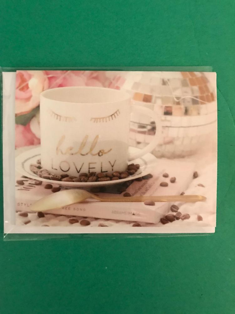 Rebecca Mail Exclusive Card