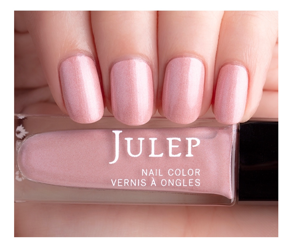 Julep Sloan (Classic with a twist) Icy primrose shimmer