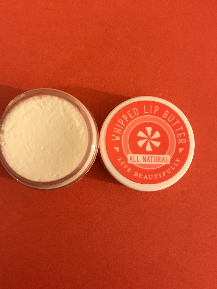 Live Beautifully Peppermint & Vanilla Whipped Lip Butter