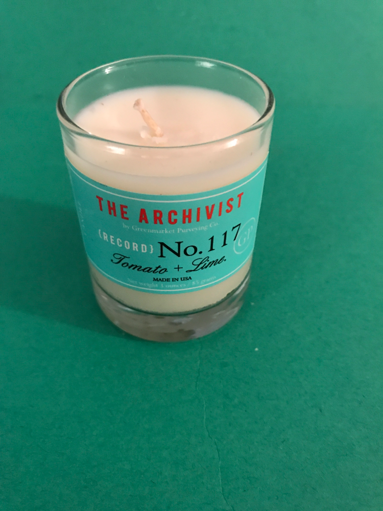 Greenmarket Archivist Candle