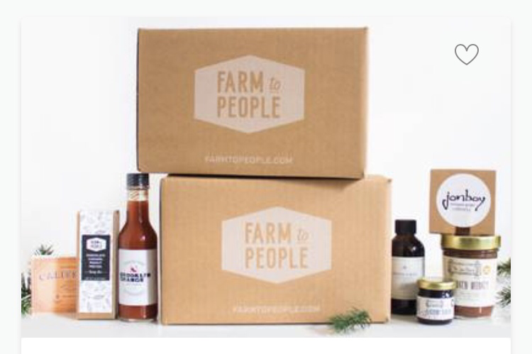 Farm to people.  Allthingssubscriptionboxes