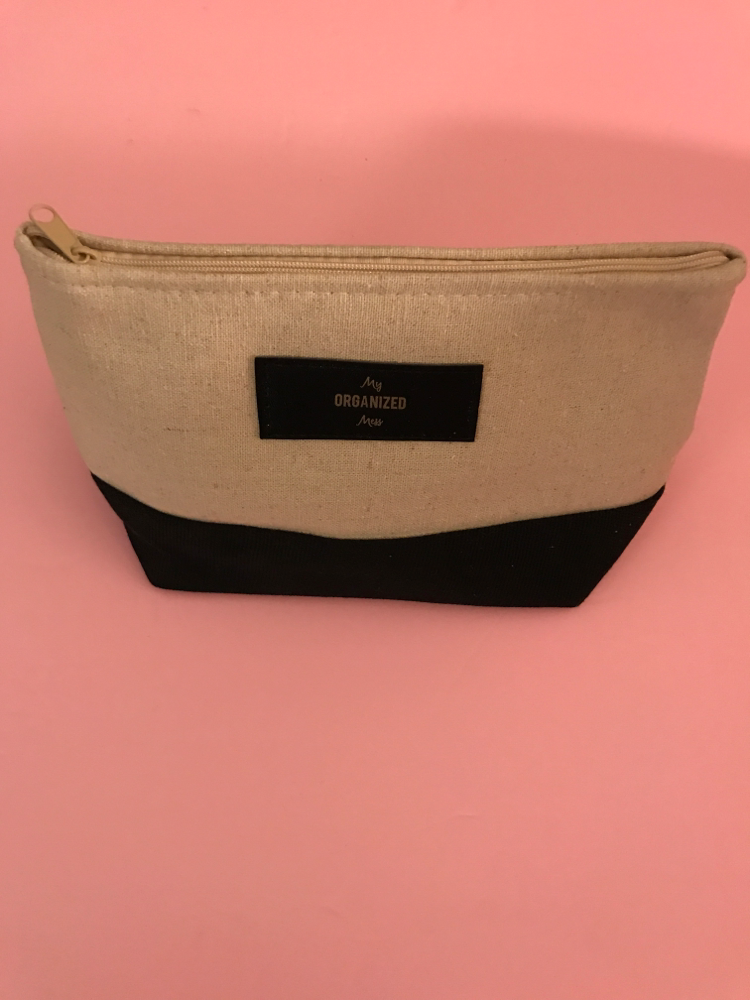 "QLP ""My Organized Mess"" Allure Cosmetic Bag"