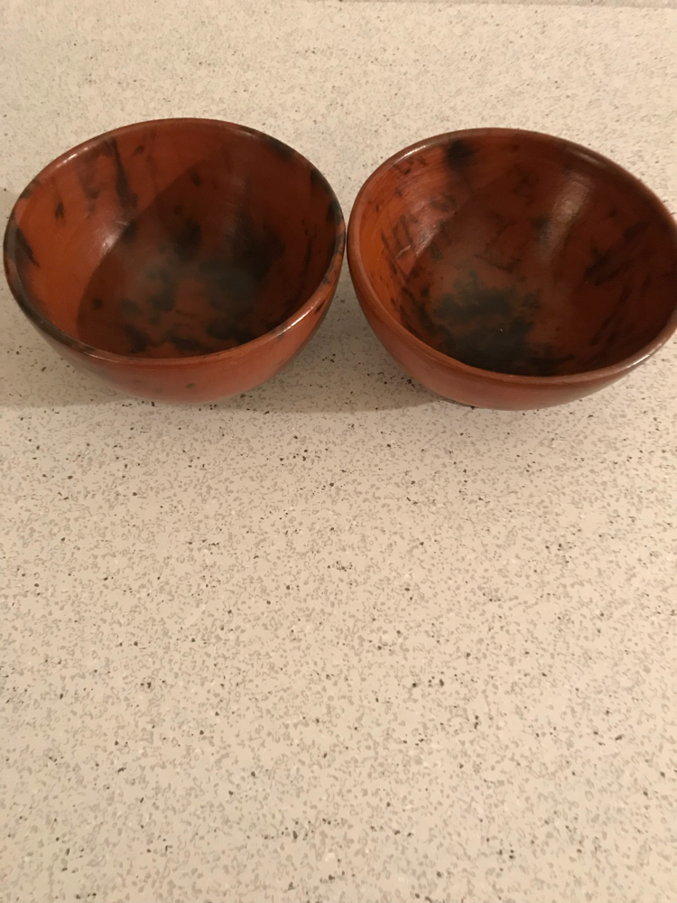 Ten thousand villages clay mini bowl set