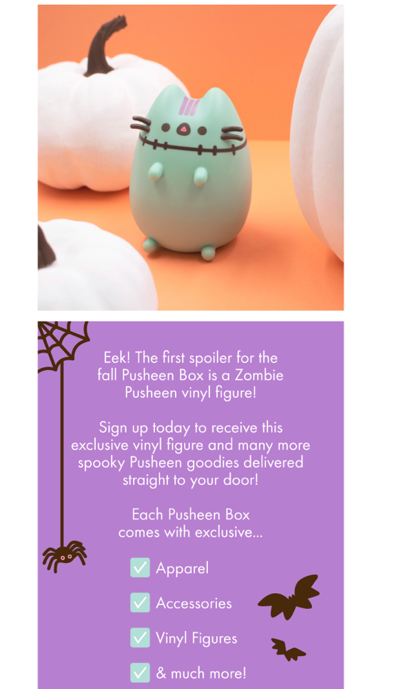 Fall 2019 Pusheen spoiler