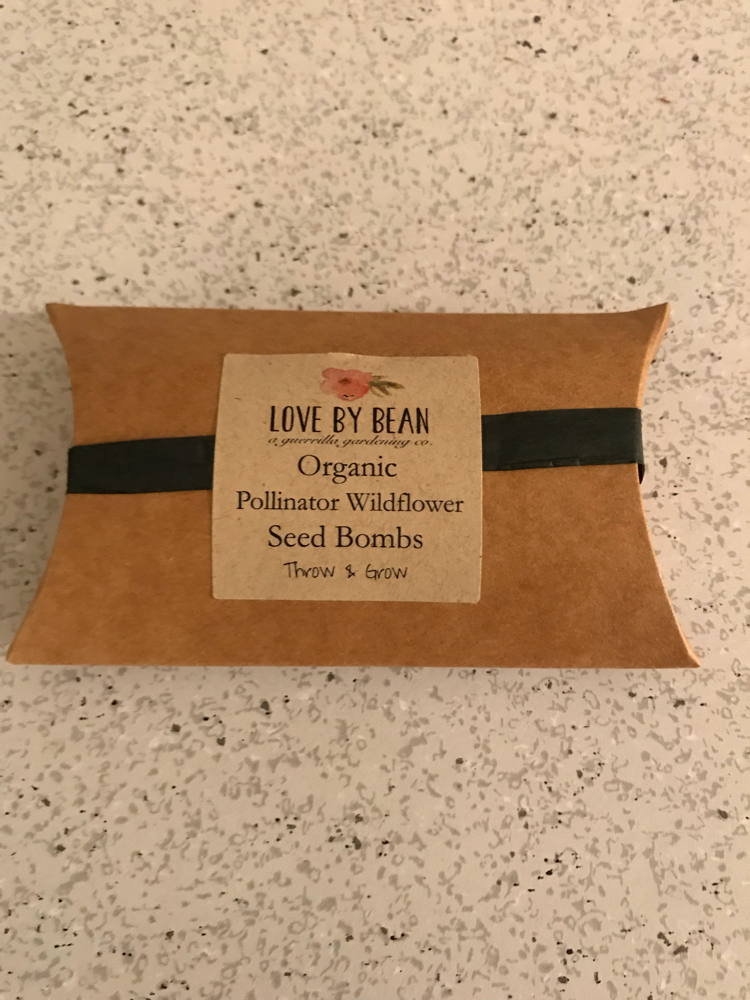 Love By bean wildflower seed bombs
