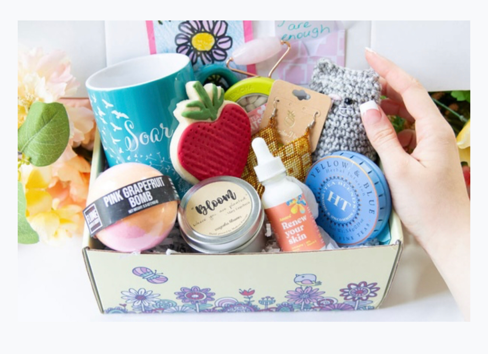 Hopebox - self care subscription box