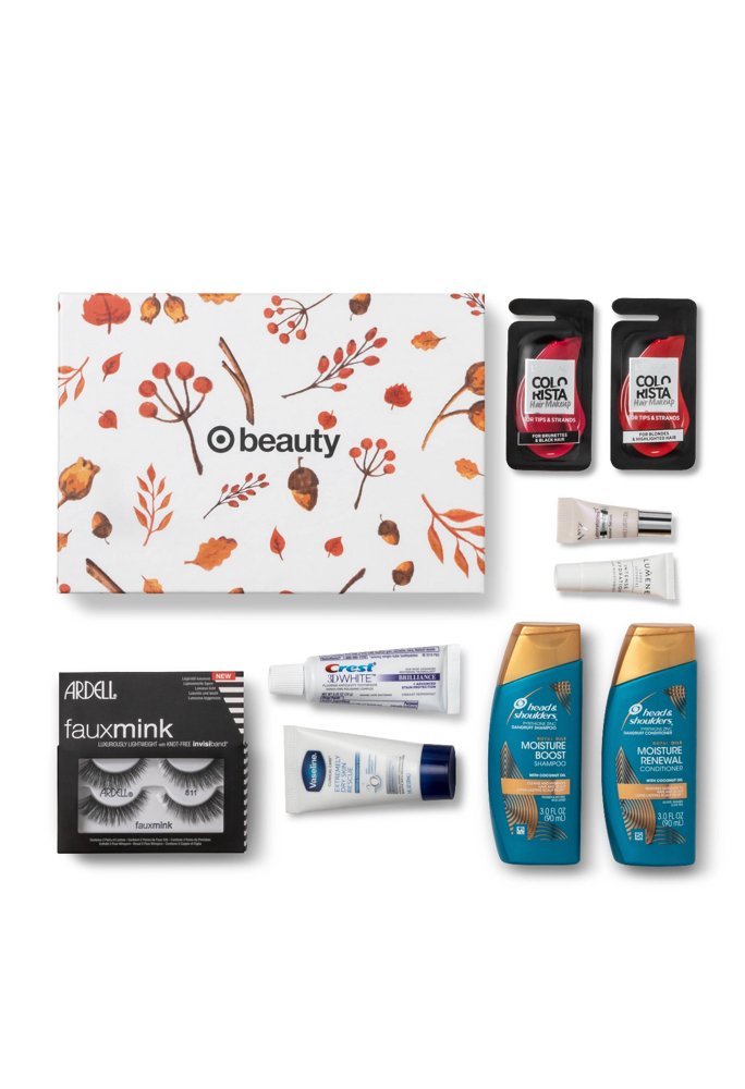 October 2019 Target Women's Beauty Box