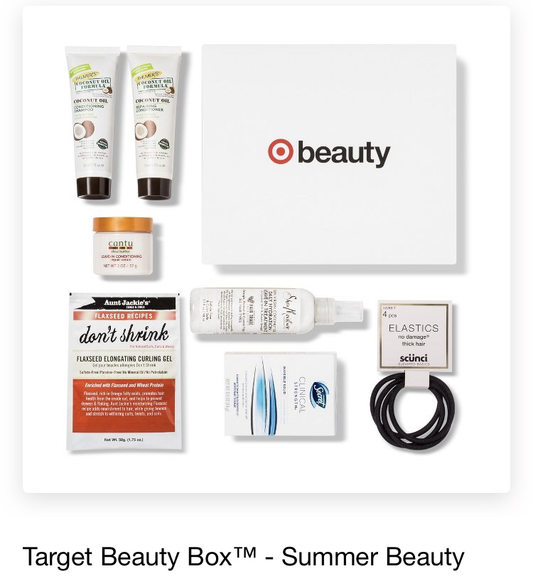 Target Summer Beauty Box 2018