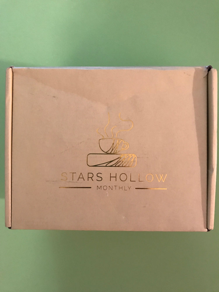 This is the box that Stars Hollow Monthly Normally Cones in
