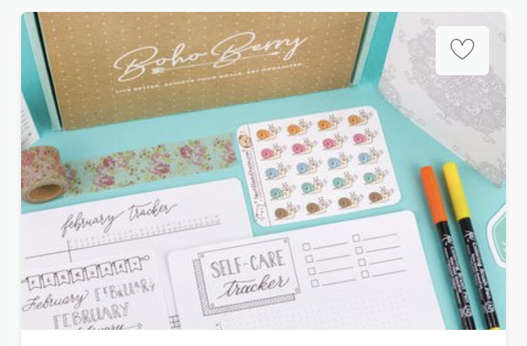 Boho berry box.    Allthingssubscriptionboxes