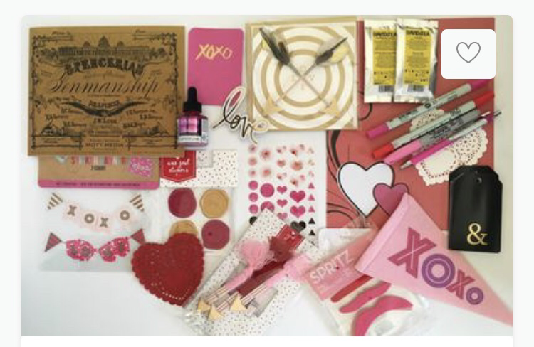 Letter create box.  Allthingssubscriptionboxes