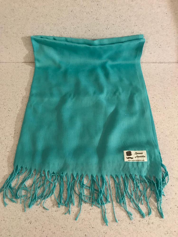Bazar Anatolia Turquoise Scarf