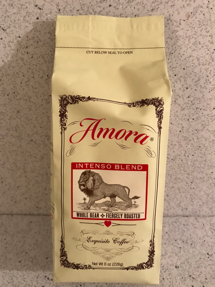 Amora Intenso Blend Whole Bean Fiercely Roasted