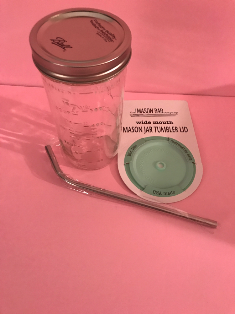 Mason Bar Company- Original Portable Mason Jar