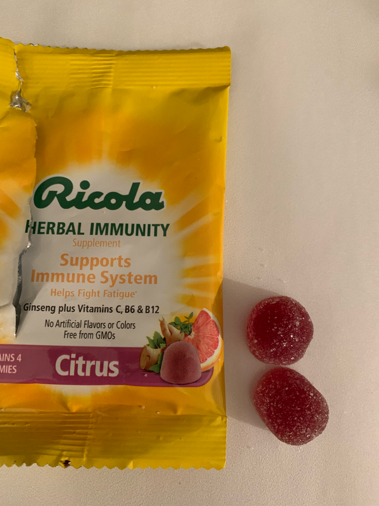 Ricola Herbal immunity citrus