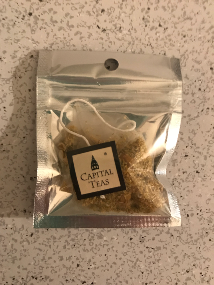 Capital teas organic Nile chamomile tea