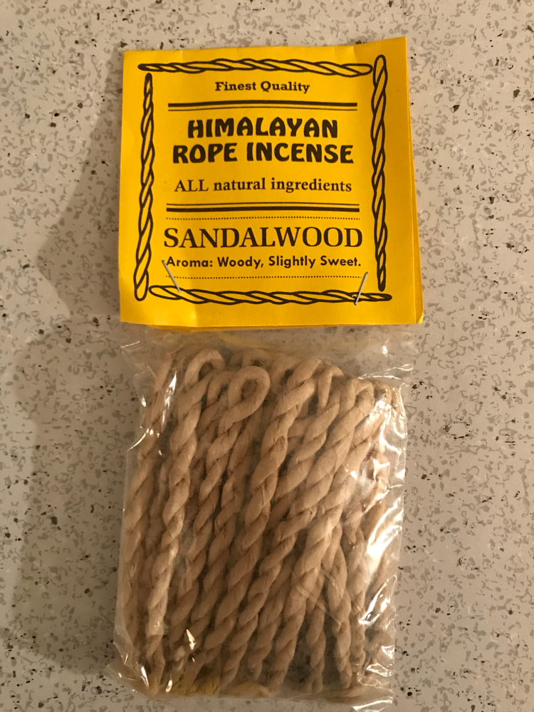 The happy shoppe Tibetan rope incense