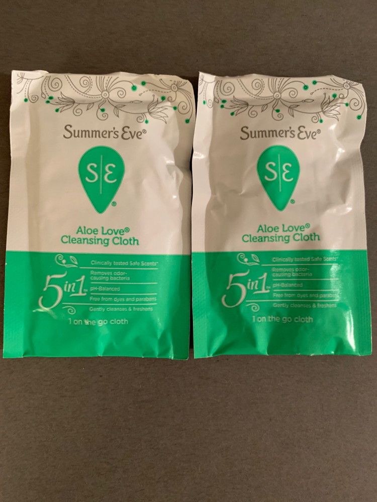 Summer's Eve Aloe Love Cleansing Cloth