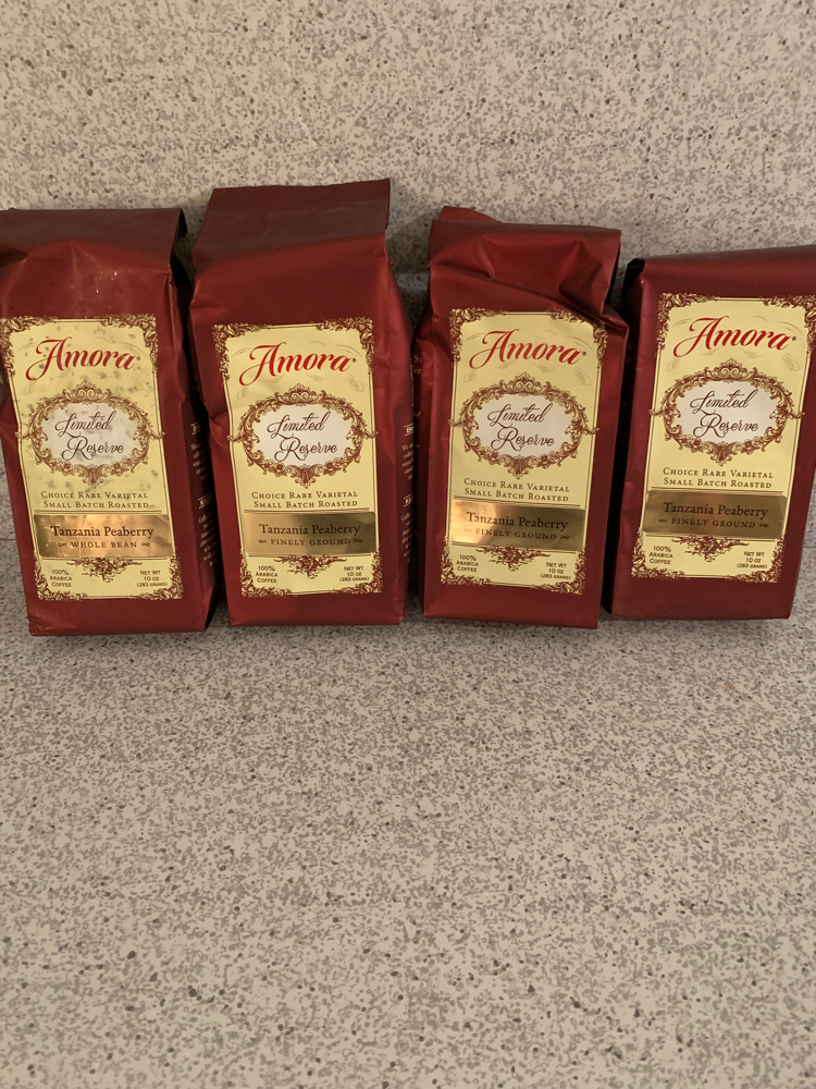 Amora limited reserve coffee