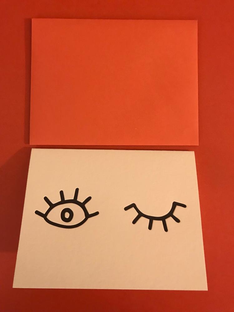 A Wink Card By Dahlia Designs
